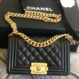 CHANEL Boy Bag Quilted Lambskin NEW